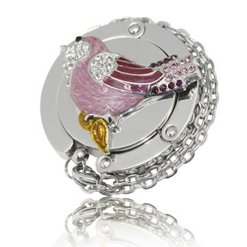 Critter - Pink Birdie Hook Handbag Hooks