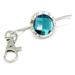 Classic Aqua Crystal Keyfinder
