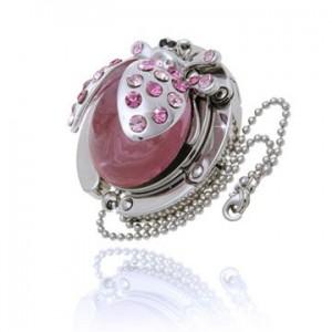Ladybird Pink Handbag Hook