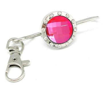 Classic Pink Crystal Keyfinder