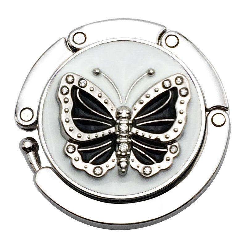 Black Butterfly Handbag Hooks
