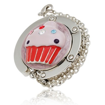 Red Cupcake Handbag Hook