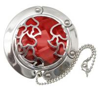 Big Red Heart Handbag Hooks
