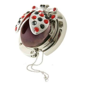 Ladybird Red Handbag Hook