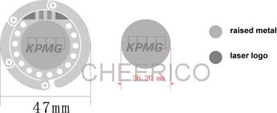KPMG Handbag hooks - MOCK up